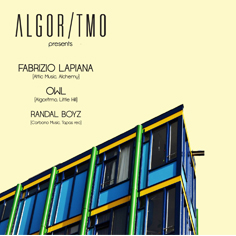 ALGOR/TMO with Fabrizio Lapiana at Magazzino 33