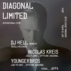 Dj Hell at Diagonal Disco Club