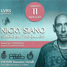 LVRS & JAZZ:RE:FOUND presents Nicky Siano at Faktory